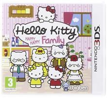 Hello Kitty Happy Happy Family Nintendo 3Ds