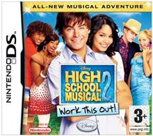 High School Musical 2 Work This Out Nintendo Ds
