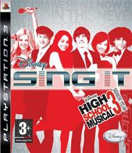 High School Musical 3 Senior Year Sing It Ps3