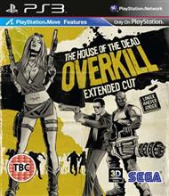 House Of The Dead Overkill Extended Cut (Move) Ps3