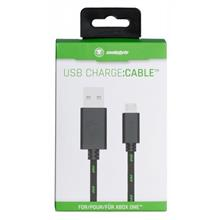 Incarcator Snakebyte Usb Mesh Charge Cable 3M Black Green Xbox One