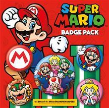 Insigne Super Mario Badge Pack
