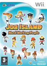 Job Island Hard Working People Nintendo Wii