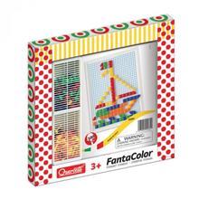 Joc Creativ Fanta Color Quercetti Creatie Imagini Mozaic 100 Piese imagine