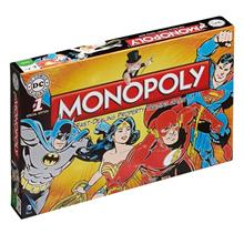Joc Dc Comics Retro Edition Monopoly Board Game