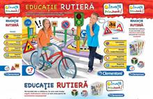 Joc Educatie Rutiera - Clementoni 60203