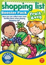 Joc Educativ - Lista De Cumparaturi - Fructe & Legume - Orchard Toys (090)