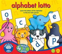 Joc Educativ Loto - Alfabetul - Orchard Toys (083)
