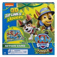 Joc Paw Patrol Jungle Rescue 3D Zip Lines And Ladders