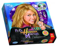 Joc Trefl Hannah Montana+Cd+Carti De Joc