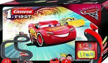 Jucarie Carrera Slot 1.First Disney Cars 3 Lightning Mcqueen Dinoco Cruz New