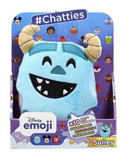Jucarie De Plus Disney Emoji Chatties Sulley Series 1