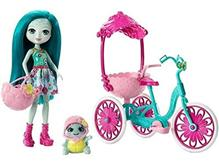 Jucarie Enchantimals Tricycle & Turtle