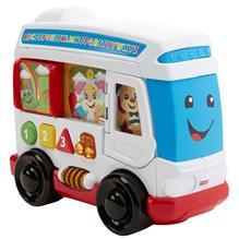 Jucarie Fisher Price By Mattel Laugh And Learn Autobuzul Cu Sunete In Limba Romana