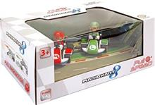 Jucarie Mariokart Pull And Speed Twin Pack Mario And Luigi