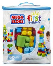 Jucarie Mega Bloks Classic Buildable Bag 60 Pieces Blue