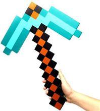 Jucarie Minecraft Foam Diamond Pick Axe 278