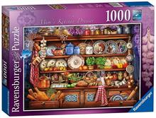 Jucarie Ravensburger Mum S Kitchen Dresser 1000 Piece Jigsaw Puzzle