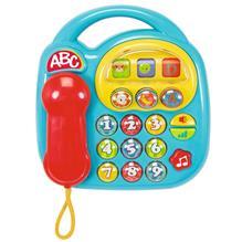 Jucarie Simba Abc Telefon Muzical Albastru imagine