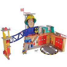 Jucarie Simba Statie De Pompieri Fireman Sam Sam Ultimate Firestation Xxl Cu Figurina Si Accesorii