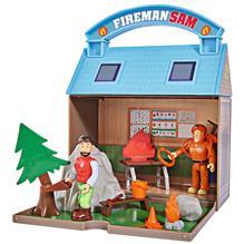 Jucarie Simba Statie Montana Mountain Activity Centre Fireman Sam Bergstation Cu 2 Figurine Si Accesorii imagine