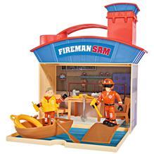 Jucarie Simba Statie Salvamar Ocean Rescue Fireman Sam Wasserwacht Cu 2 Figurine Si Accesorii imagine