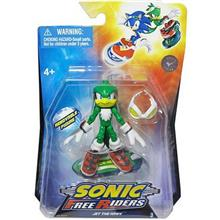 Jucarie Sonic Free Riders 3 Inch With Board Wave 2 Jet The Hawk
