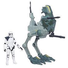 Jucarie Star Wars The Force Awakens 3.75-Inch Vehicle Assault Walker