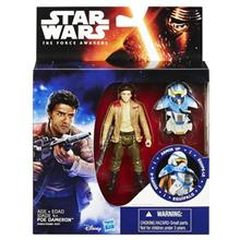 Jucarie Star Wars The Force Awakens Space Mission Armour Poe Dameron Pilot