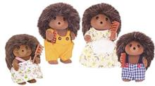 Jucarie Sylvanian Families Hedgehog Family
