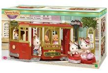 Jucarie Sylvanian Families Town Series Ride Along Tram