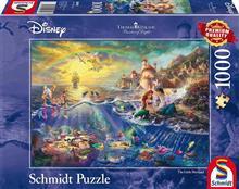 Jucarie Thomas Kinkade Disney The Little Mermaid 1000 Piece Jigsaw Puzzle