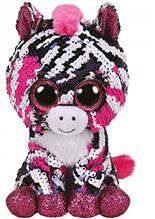 Jucarie Ty Beanie Boos Flippables Zoey Zebra