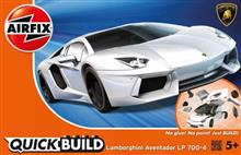 Kit Constructie Airfix Quick Build Lamborghini Aventador White