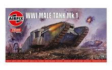 Kit Constructie Airfix Tanc Vintage Classics - Wwi Male Tank Mk.I 1:76