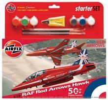 Kit Constructie Avion Raf Red Arrows Hawk Mediu