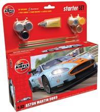 Kit De Constructie Si Pictura Masina Aston Martin Dbr9