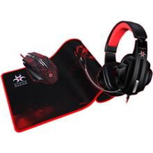 Imagine indisponibila pentru Kit Gaming Mouse Casti Mousepad Myria Mg7514
