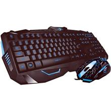 Kit Tastatura Si Mouse Gaming Marvo Km400