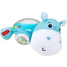Lampa De Veghe Plus Fisher Price By Mattel Newborn Hipopotam Albastru imagine