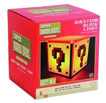 Lampa Super Mario Bros. Question Block Light