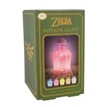 Lampa The Legend Of Zelda Potion Multicolor Light