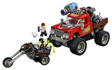 Lego Camionul De Cascadorii Al Lui El Fuego