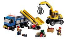 Legou00E2u00AE City - Excavator Si Camion - 60075
