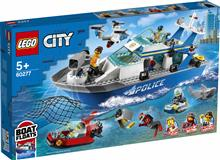 Lego City Nava De Patrulare A Politiei