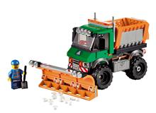 LEGOu00AE CITY - Snowplow Truck - 60083