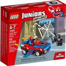 LEGOu00AE Juniors - Spider-Manu2122: Spider-Car Pursuit - 10665