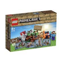 Legou00E2u00AE Minecraftu00E2u201Eu00A2 Cutie De Crafting - L21116