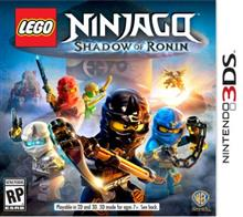 Lego Ninjago Shadow Of Ronin Nintendo 3Ds