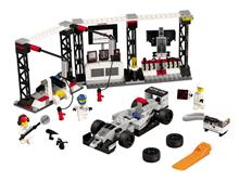 Legou00E2u00AE Speed Champions Oprirea La Boxe Mclaren Mercedes - 75911